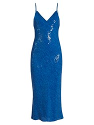 Diane Von Furstenberg Havita Dress Blue