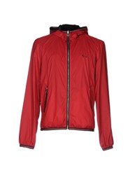 Harmont And Blaine Jackets Brick Red