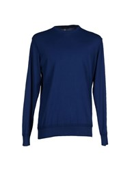 39 Masq Knitwear Jumpers Men Blue