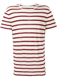 Harmony Paris Breton Stripe T Shirt Nude And Neutrals