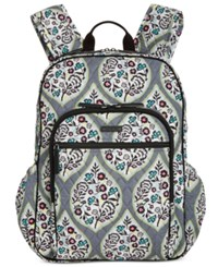 Vera Bradley Campus Tech Backpack Heritage Leaf