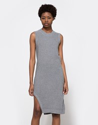Finders Keepers Cheap Talk Knit Dress Grey