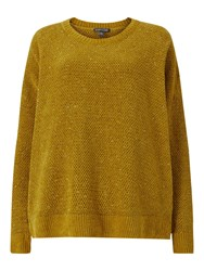 Eileen Fisher Crew Neck Box Top Arnica