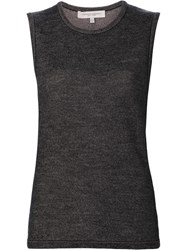 Carolina Herrera 'Tweed Knit' Tank Nude Neutrals