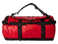 The North Face Base Camp Duffel Medium Tnf Red Tnf Black Duffel Bags