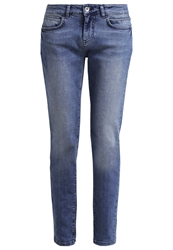 Kiomi Relaxed Fit Jeans Stone Wash Stone Blue