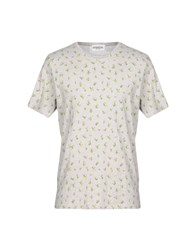 Essentiel Antwerp T Shirts Grey