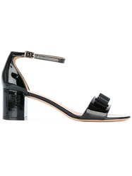 Salvatore Ferragamo Vara Sandals Black