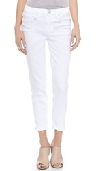 Vince Mason Relaxed Rolled Jeans Optic White