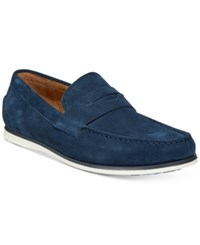 Alfani Men's Sawyer Slip On Loafers Created For Macy's Men's Shoes Navy