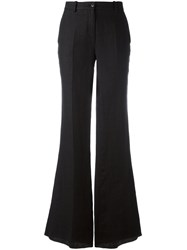 Roberto Cavalli Flared Trousers Black