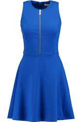 Michael Michael Kors Stretch Jersey Mini Dress Blue
