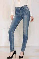 Nasty Gal Citizens Of Humanity Carlie High Waisted Skinny Jean Miramar