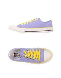 Tosca Blu Low Tops And Trainers Lilac