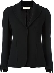 L'autre Chose Patch Pockets Blazer Black