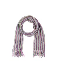 Missoni Accessories Oblong Scarves Men Light Green