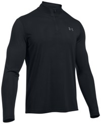 Under Armour Men's Threadborne Performance Quarter Zip Pullover Black