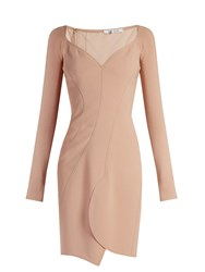 Givenchy Sweetheart Neckline Cady Dress Nude