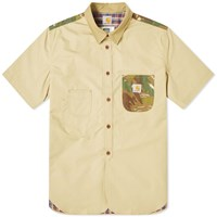 Junya Watanabe Man Eye X Carhartt Camo Patch Shirt Green