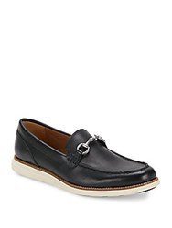 Cole Haan Original Grand Leather Loafers Black Ivory