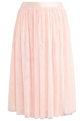Oasis Pleated Skirt Blush Pink Rose