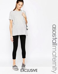 Asos Maternity Tall Cropped Legging Black