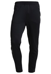 Zalando Sports Tracksuit Bottoms Black