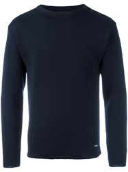 Armor Lux 'Fouesnant' Jumper Blue