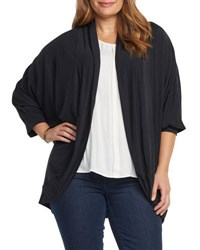 Tart Plus 3 4 Sleeve Bolero Wrap Black