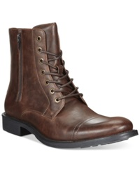 Unlisted By Kenneth Cole Blind Turn Boots Men's Shoes Brown