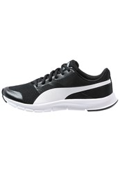 Puma Flexracer Lightweight Running Shoes Black White
