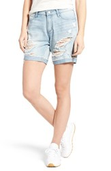 Articles Of Society Women's Nadine Ripped Boyfriend Shorts