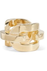 Jennifer Fisher Chain Link Gold Plated Ring 4