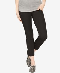 A Pea In The Pod Maternity Skinny Ankle Pants Black