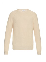 Lemaire Wool Blend Ribbed Knit Sweater