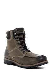Crevo Roughneck Lace Up Boot Gray