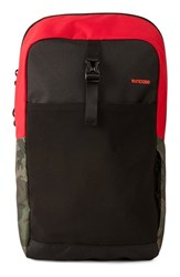 Men's Incase Designs 'Cargo' Backpack Red Rosso Corsa Red Black Camo