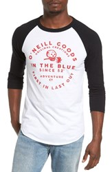 O'neill Men's Skibby Graphic Baseball T Shirt
