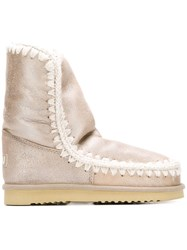 Mou Snow Boots Nude And Neutrals