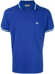 Christian Dior Homme Classic Polo Shirt Blue