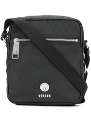 Versus Cross Body Messenger Bag Black