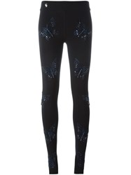 Philipp Plein 'In Your Eyes' Leggings Black