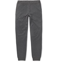 Berluti Double Faced Cotton Blend Jersey Sweatpants Gray