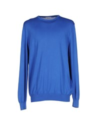 Gran Sasso Sweaters Bright Blue