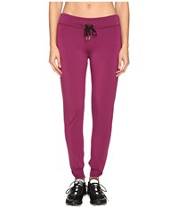 Kate Spade New York X Beyond Yoga Relaxed Bow Long Sweatpants Zinfandel