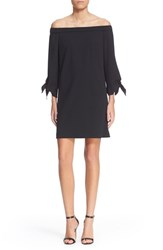 Women's Tibi Off The Shoulder Flutter Sleeve Dress