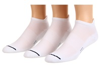 Wrightsock Spirit Tab 3 Pair Pack White Low Cut Socks Shoes
