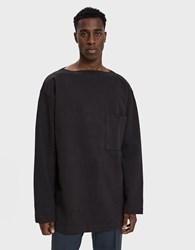 Christophe Lemaire Mariniere French Terry Sweatshirt Anthracite