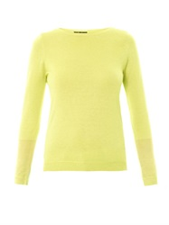 Freda Ciara Silk And Cashmere Blend Sweater