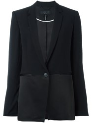 Rag And Bone One Button Blazer Black